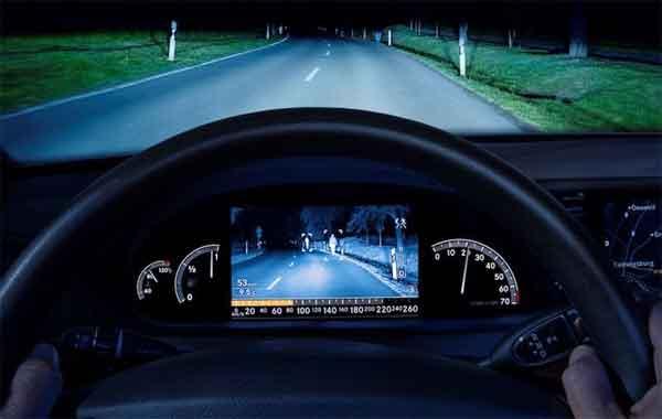 Система ночного видения авто