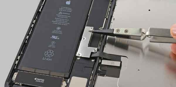 Отключение шлейфов смартфона