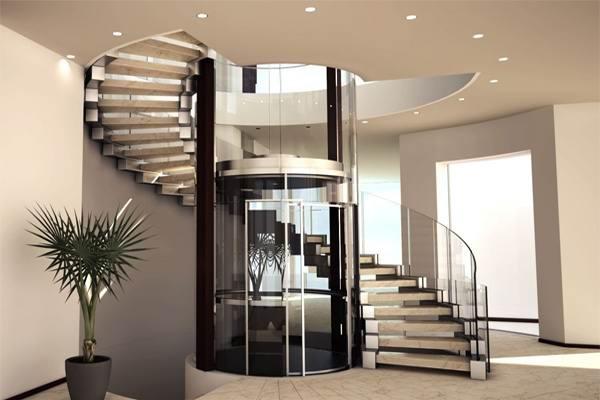 Гидравлический малый лифт