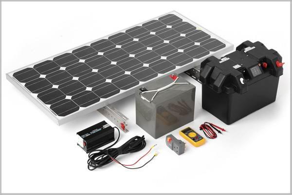 Готовый набор солнечного генератора