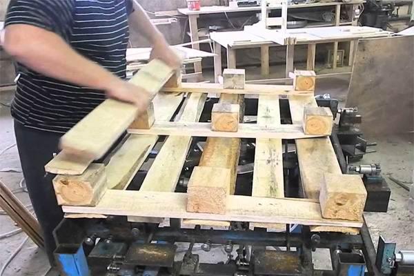 Изготовление грузовых паллет