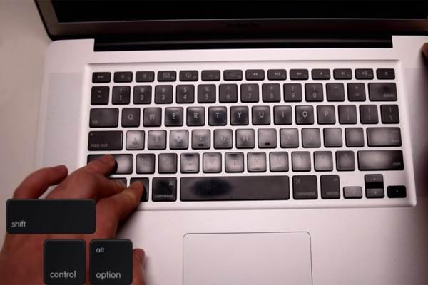 Комбинация клавиш на сброс SMC макбука