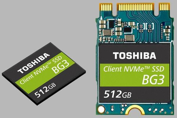 Накопитель SSD компании Toshiba
