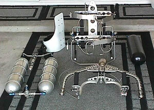 Одна из первых конструкций jet-belt
