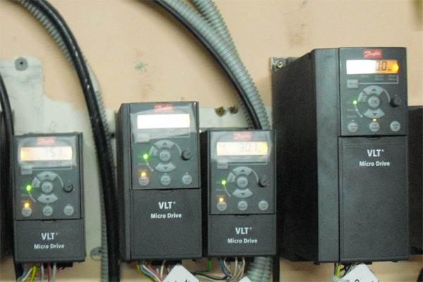 Электронный преобразователь частоты VLT