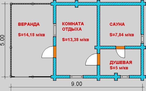 Схема для частного дома