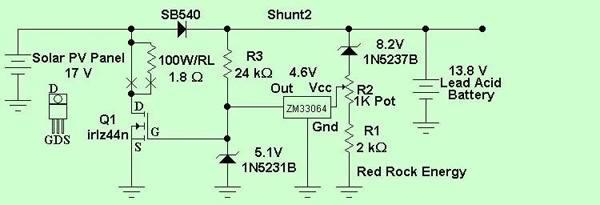 Схема pwm контроллера домашней солнечной установки