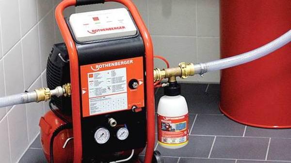 Оборудование для промывки системы