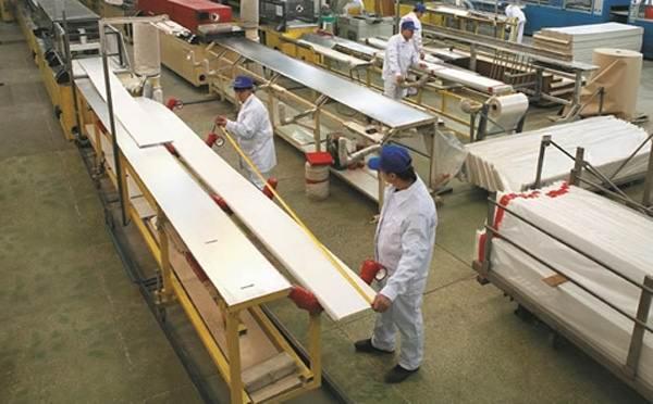 Производство стеновых панелей ПВХ