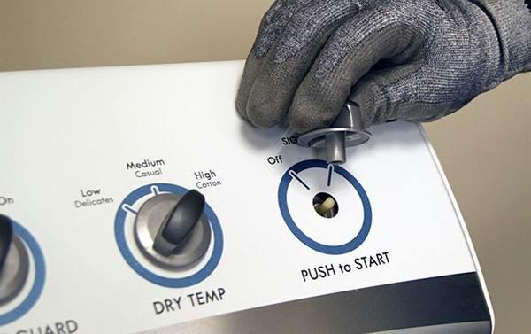 Стартовый переключатель стиральной машины