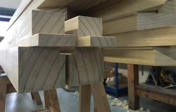 Структура древесины Accoya