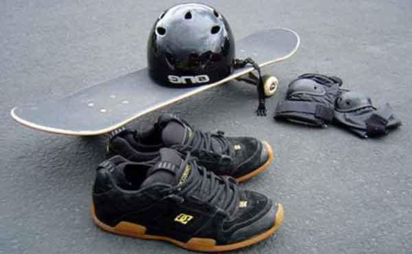 Экипировка для скейтбординга