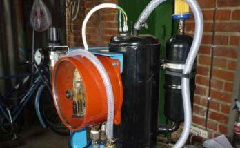 Маслоотделитель компрессора – система очистки газа от масла