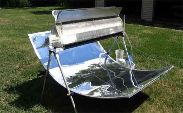 Дачный солнечный дистиллятор