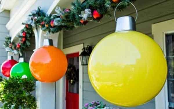 Пластиковые шары гирлянды