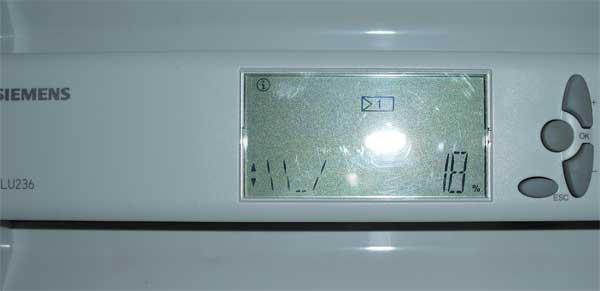 Последовательности контроллера Siemens RLU236
