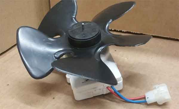 Вентилятор, демонтированный на ремонт