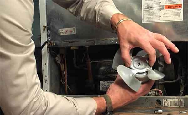 Вентилятор охлаждения конденсатора