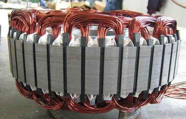 Конструкция статора асинхронного мотора