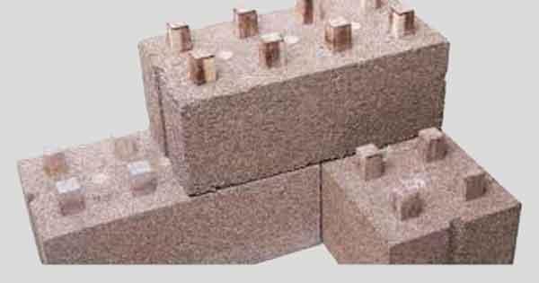 Модульный строительный блок из конопли