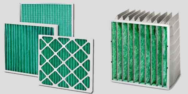 Панельные и карманные фильтры для ПВУ