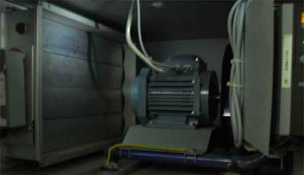 Воздушный клапан приточно-вытяжной установки