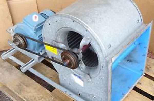 Радиальный вентилятор ПВУ