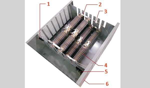 Резисторы для систем торможения двигателей