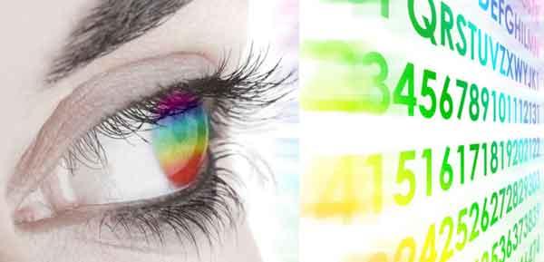 Восприятие цифры цветом