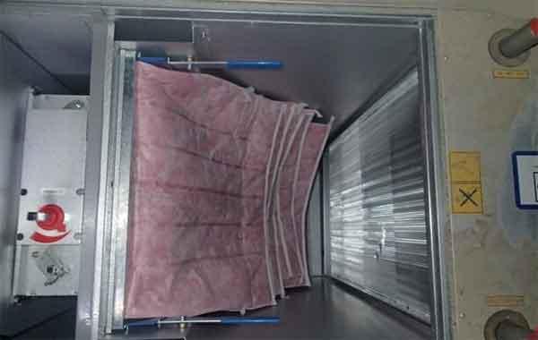 Воздухонагреватель ПВУ водяной