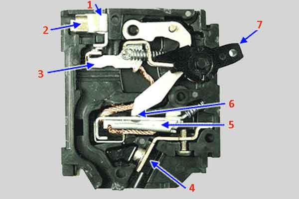 Защитный магнитный выключатель