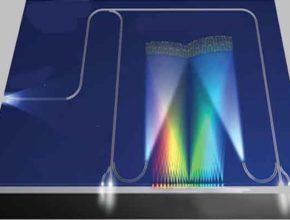 Оптический микропроцессорный чип с поликремнием