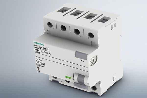 УЗО Siemens – тип приборов и особенности включения