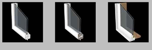Варианты исполнения стекло-пакетов 2