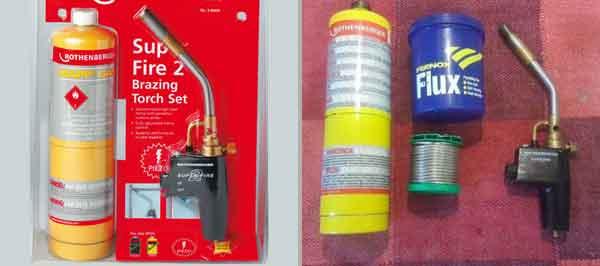 МАПП газ в комплекте с газовой горелкой