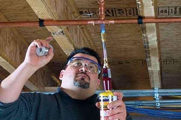 Пайка медных трубок газовой горелкой (инструкция)