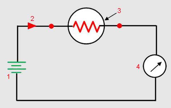 Схема проверки термистора