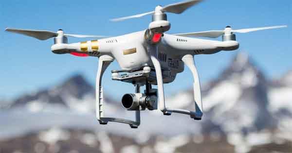 Квадро-винтовой летательный аппарат