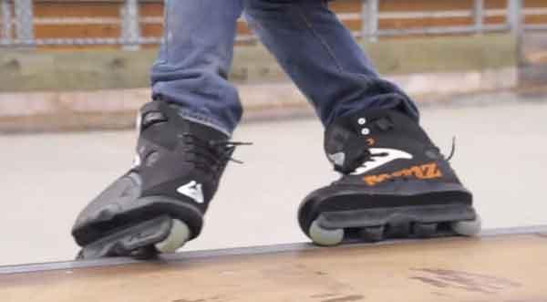 Роликовые коньки wheell-rocker
