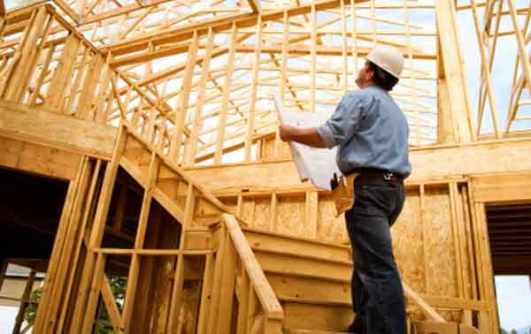 Инспектирование стройки частного дома