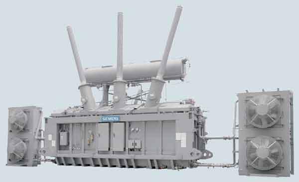 Мощный силовой трансформатор Siemens