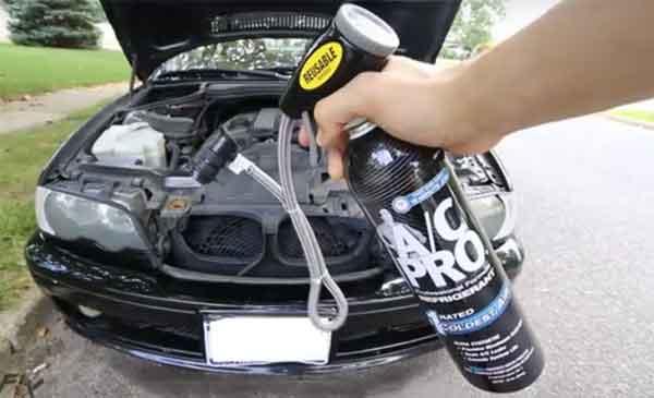 Заправка фреоном автомобиля