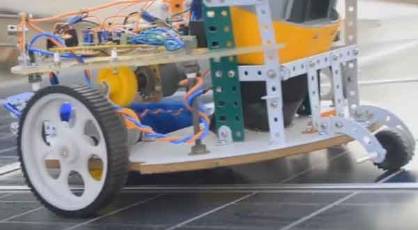 Пылесос-робот конструкция