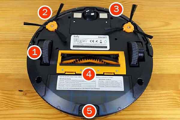 Робот пылесос Eufy Robot Vacuum Robo Vac