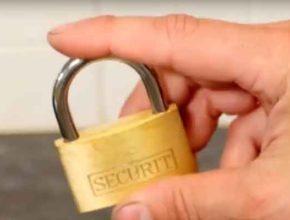 Как открыть замок без ключа?