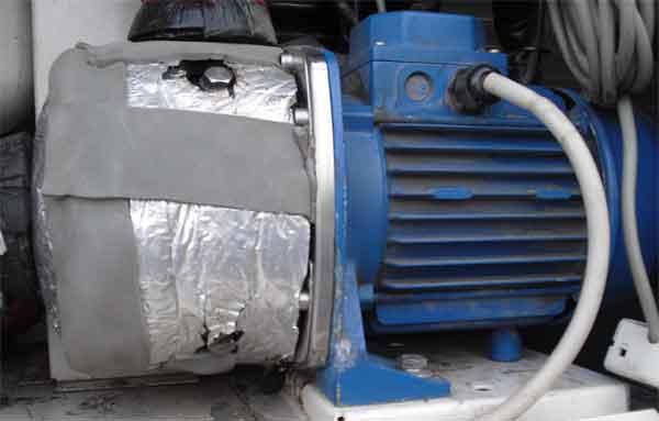 Циркуляционный насос чиллера Wesper AQL80