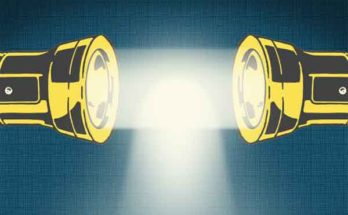 Золотой нанокуб и мультиточечный источник света