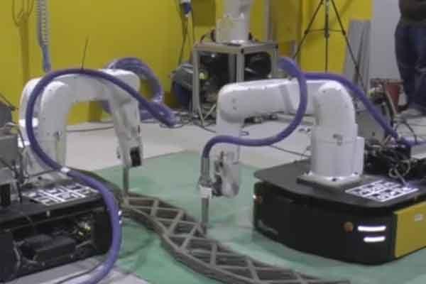 Мобильные роботы и технология печати бетоном