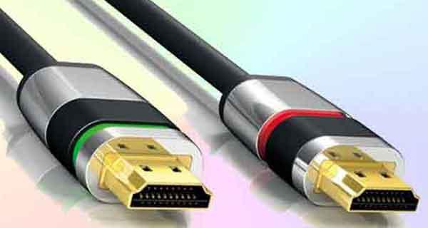Вилка интерфейса версии HDMI 2.1 HDR