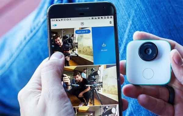 Google Clips сюжет камерой